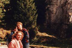 1996 Muntii Bucegi traseu