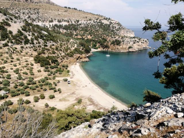 livadi beach thassos